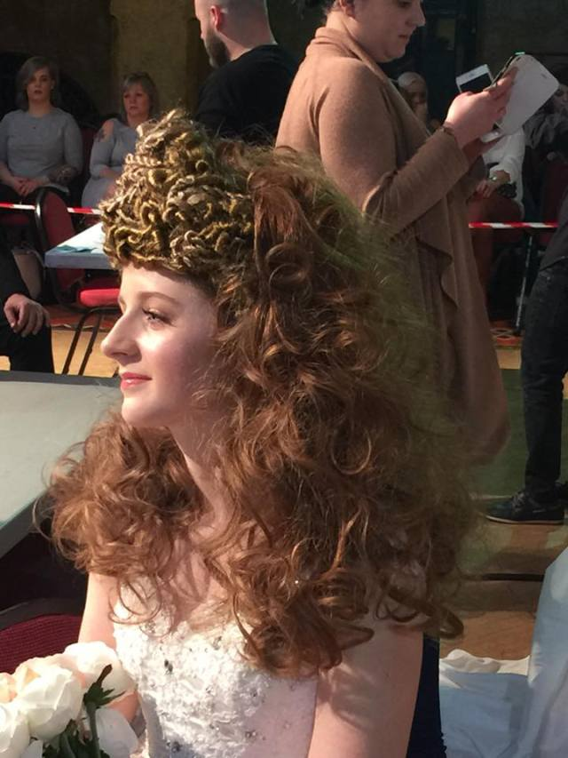 Donna Scoops 2 Awards at NHF Blackpool Hairdressing Competition 2016
