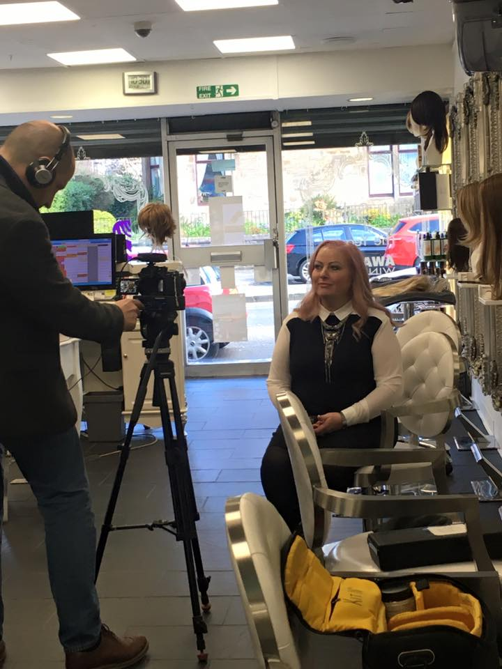 'Hair Loss Hairdressers' – My Hair Guru Featured on STV News' Live at Five