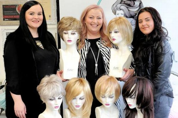 wig fitting salon in paisley