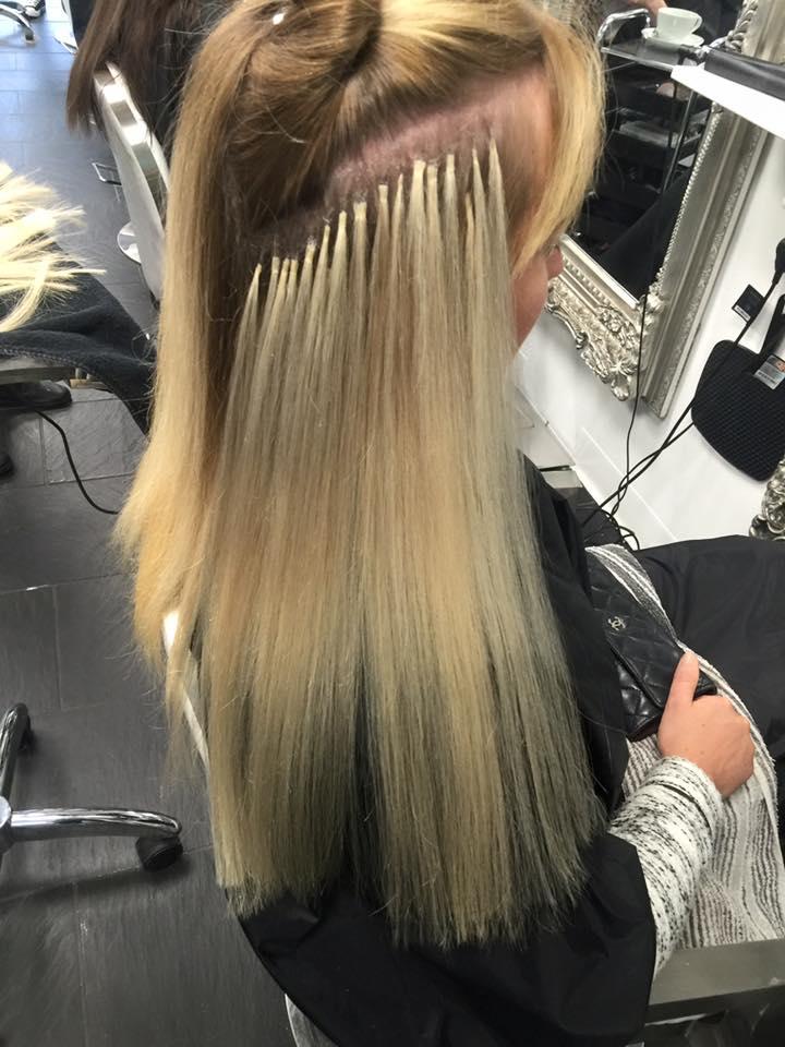 Hair Extensions at My Hair Guru Salon in Paisley