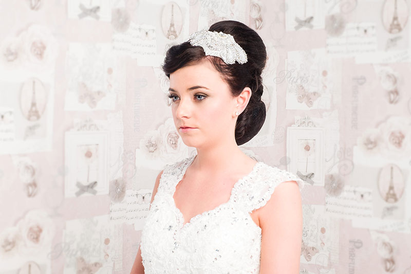 my hair guru salon in paisley bridal makeup wedding hair