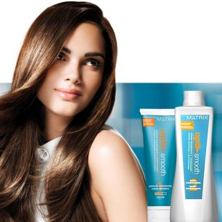 Do You Have Naturally Curly, Frizzy Hair? Try MATRIX Opti Smooth Service!