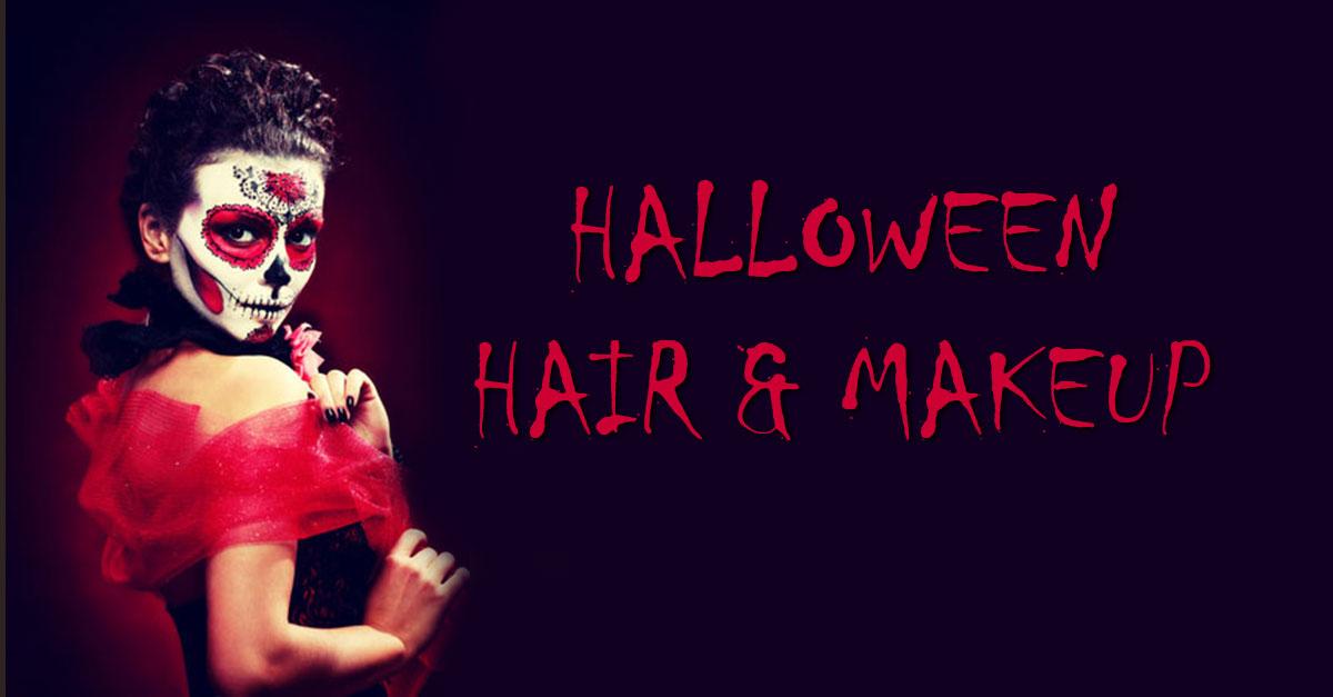 Halloween hair and makeup packages paisley my hair guru