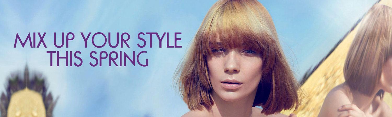 Spring hair looks at award winning Paisley hair salon