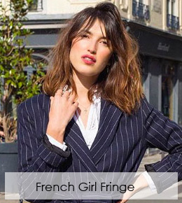 Try a 'French-Girl Fringe' this Autumn