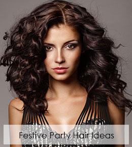 Fantastic Festive Party Hair Ideas
