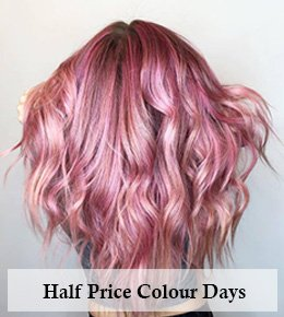 Half Price Hair Colour Days