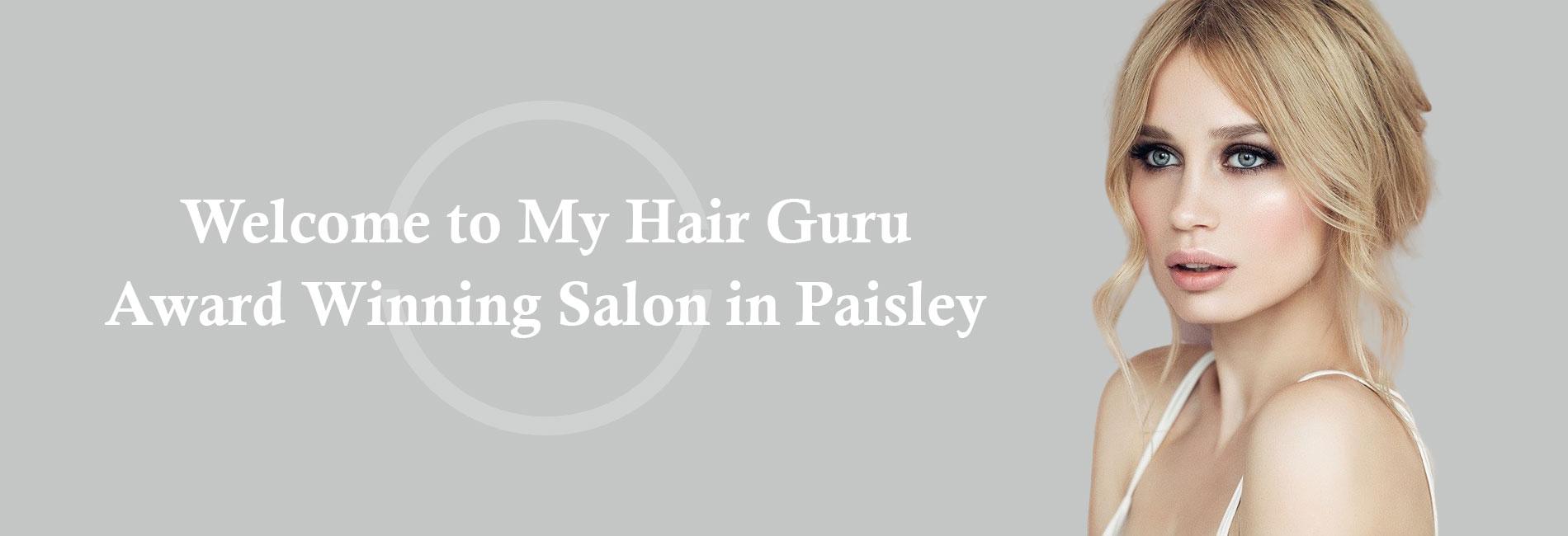 award My Hair Guru, Hair Colour, Top Hair Salon in Paisley