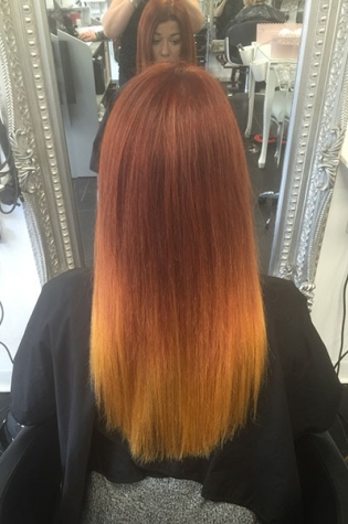 hair extensions in Paisley 7