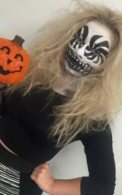 Halloween Hair & Makeup at My Hair Guru Salon in Paisley
