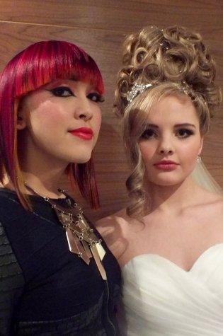 bridal hair salon in paisley
